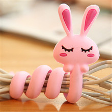 Cartoon Earphone Mouse Keyboard Cable Winder Protector Wire Cord Organizer protetor de cabo for iPhone 5