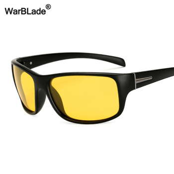 WarBLade New Fashion Night Vision Sun Glasses Protection Driving Polarized Sunglasses Men Women Brand Designer Goggles Eyewear