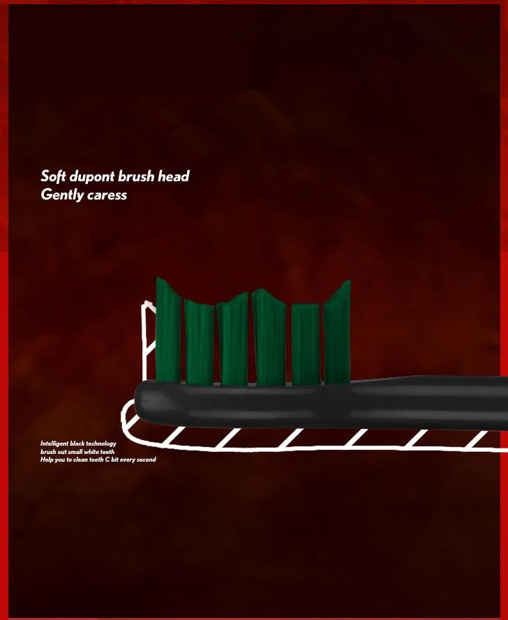 display dupont cabeça da escova acústica escova