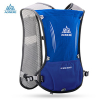 Aonijie Running Backpack 5L Trail Running Bag Vest Water Bottle Cycling Hydration Backpack Sport Bag For 1.5L Water Bags