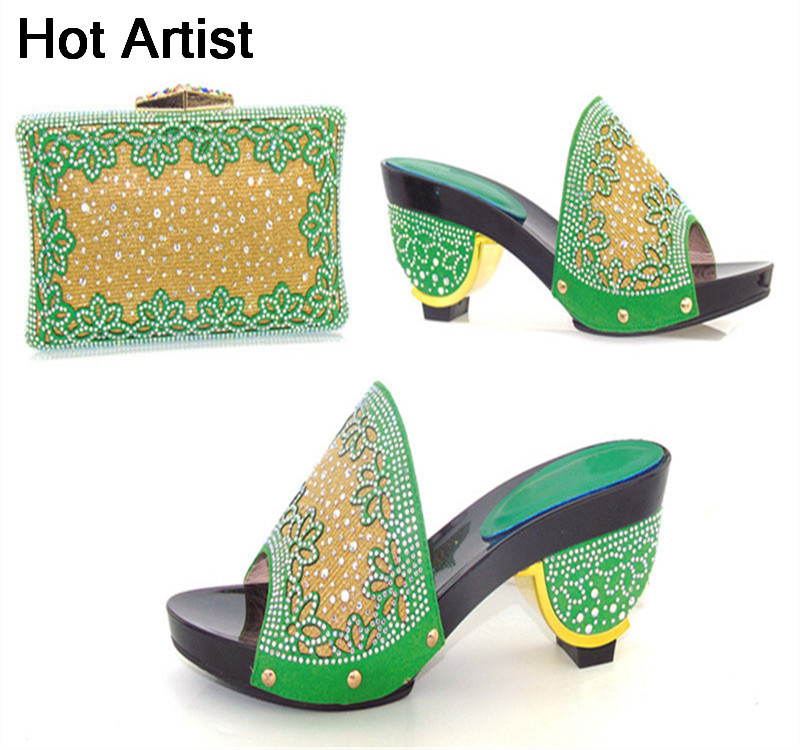 Hot Artist New Fashion Rhinestone Ladies Shoes And Evening Bag Set Italy Style High Heels Shoes And Bag Set For Evening Party mochu 22215 22215ca 22215ca w33 75x130x31 53514 53514hk spherical roller bearings self aligning cylindrical bore