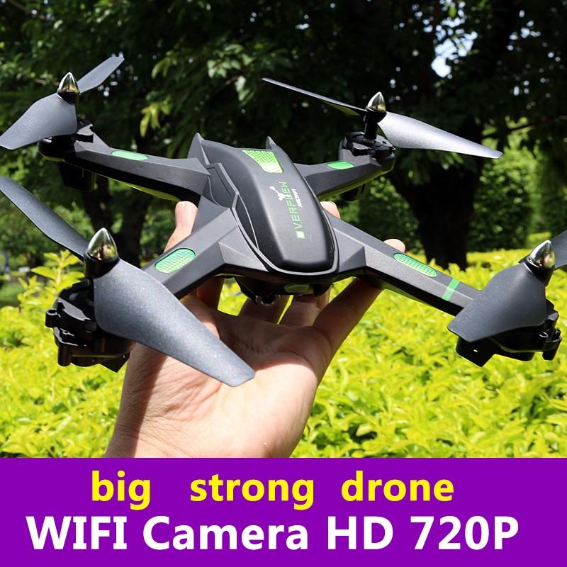 S5 gran Drone profesional Hover giroscopio Sensor de gravedad tiempo volar FPV tiempo Real de transmisión Drones con cámara HD 720 P