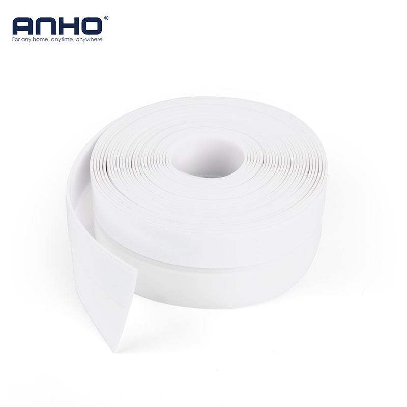 5M Sealing Tape Window Self Adhesive Silicone Waterproof DIY Cut 35mm Living Room Bedroom White Door Strip Home Accessories waterproof seam sealing tape roll satellite self amalgamating rubber sealing tape sealing cable repair lead