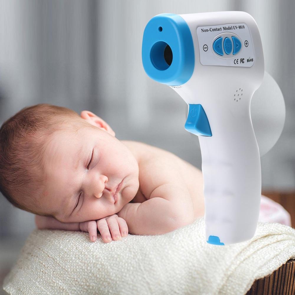 Heim-gesundheitsmonitor Elektronische Digital Thermometer Baby Infrarot Messung Fieber Muti-fuction Smart Thermometer Lcd Thermometer Für Kinder Pistole