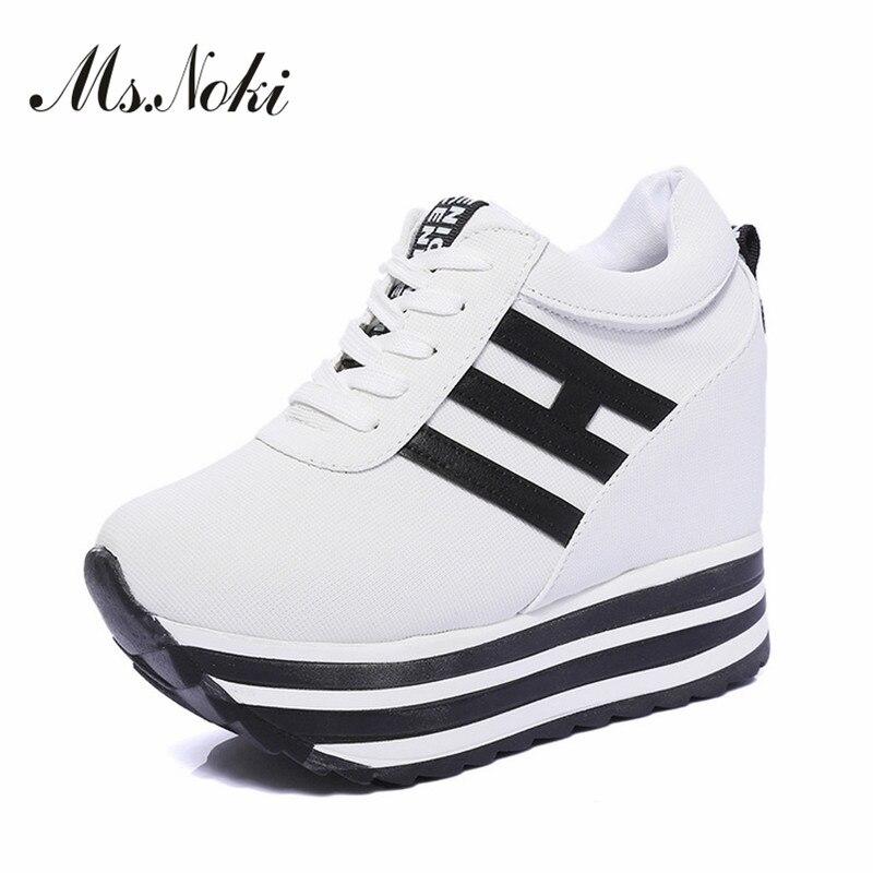 De Wedge Lace Bonne Chaussures Pour Filles Loisirs Mme Plate Femmes Qualité Noki forme Casual Causalité 2017 D'été Les up Mode Yq8p5Ew