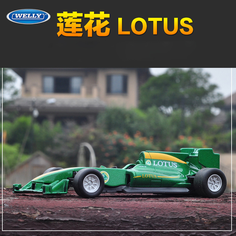 1:43 Scale Metal F1 Formula 1 LOTUS Racing Car Model Simulation T125 Alloy Toy Car Diecast Education Collection/Model/Kids/Gifts caterham 7 csr
