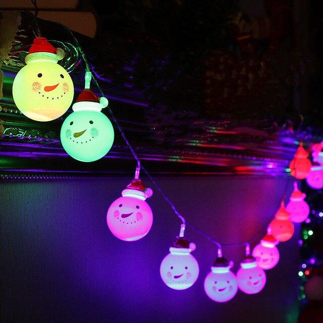 Aliexpress buy white snowman waterproof solar powered ball led white snowman waterproof solar powered ball led string light outdoor christmas led holiday light christmas wedding aloadofball Images