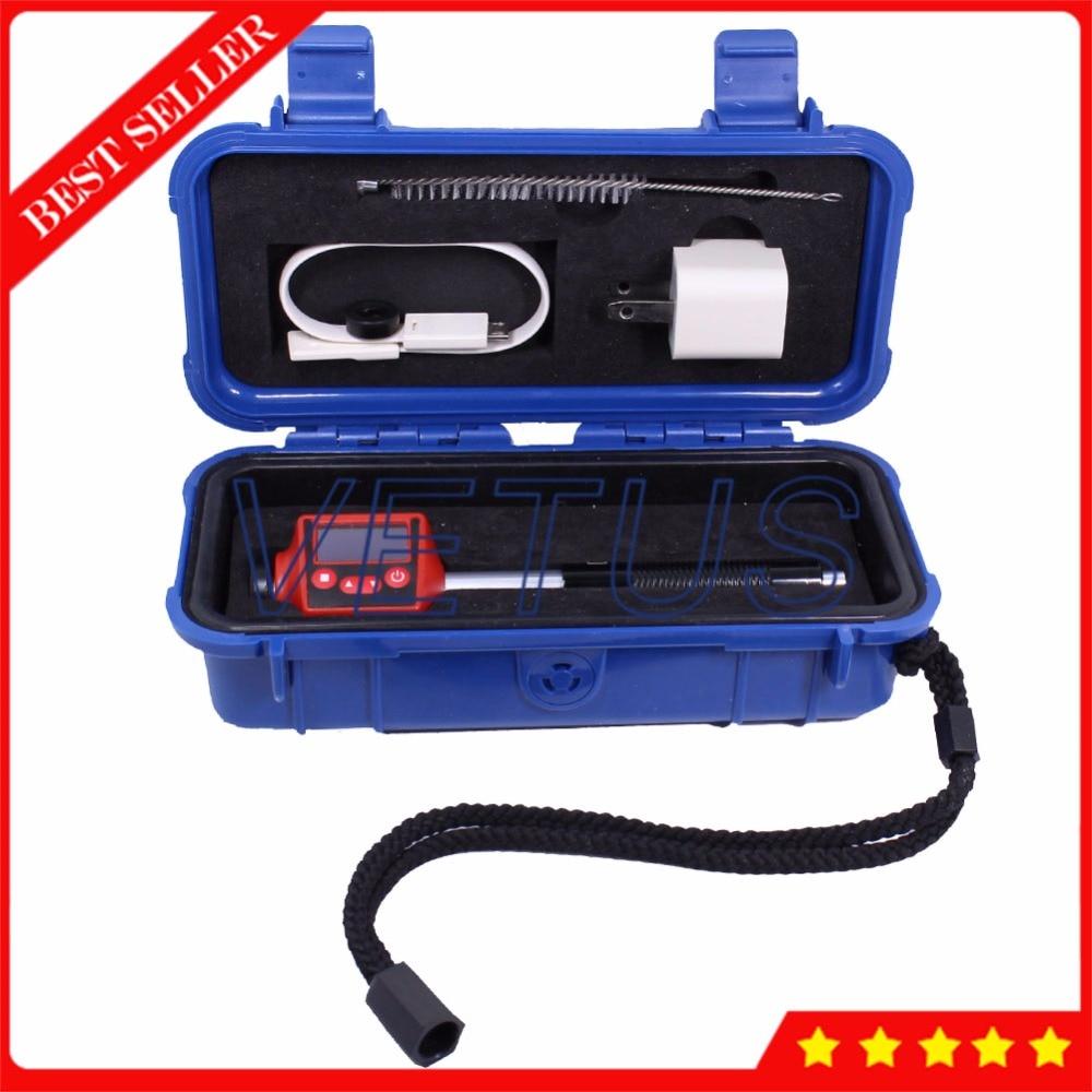Lpad H110 Pen Type Pocket Size Portable Leeb Hardness Tester Meter With NDT Testing Instrument 300 Data Storage