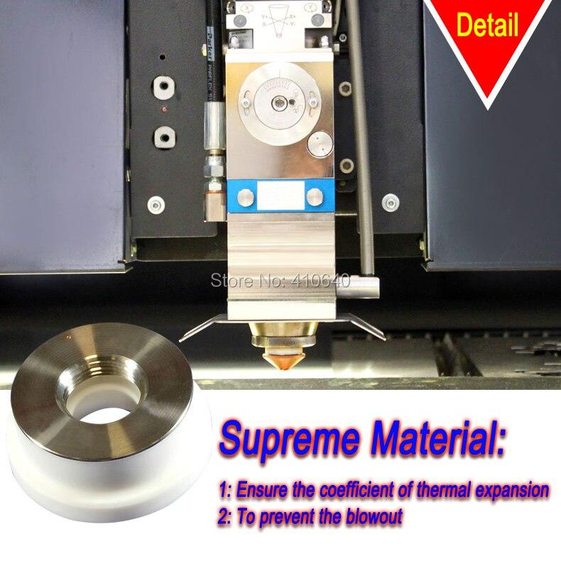 Купить с кэшбэком 1 Piece Ceramic Ring  for Optical Fiber Laser Machine Diameter 24.5 X 28mm Precitec KT B2 CON for Most Popular Laser Machine