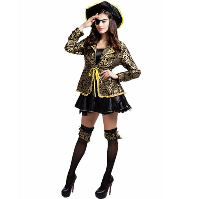 Pirate costume woman plus size halloween costumes for women disfraces carnaval disfraces de halloween para las  sc 1 st  AliExpress.com & Pirate costume woman plus size halloween costumes for women ...