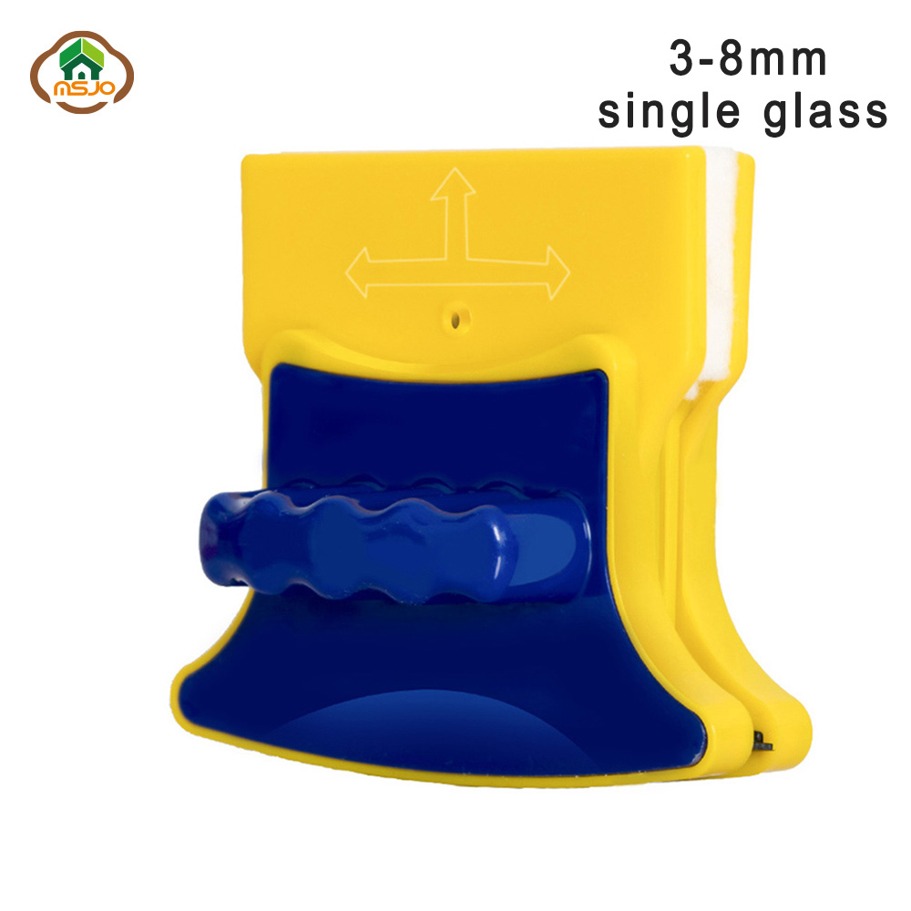 MSJO Magnetic Brush For Washing Window Cleaning 3 8MM Glass Windows Double Side Household Tool Device