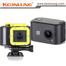 2K Action Camera Koonlung N6S Super HD 140D Lens Helmet Cam Underwater and Waterproof Sport Camera Lower Price Original Quality