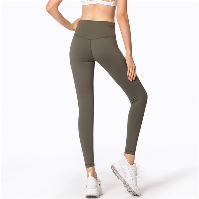8f79e3f91ef5f1 Women Seamless Tummy Control Yoga Pants Sports Running Sportswear Stretchy  Fitness Leggings Gym Compression Tights Pants Y60
