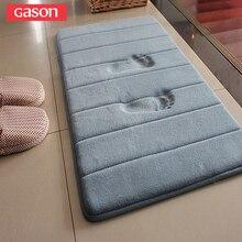 GASON большой Размеры выбор коралловые бархат памяти хлопок абсорбент pad медленно мягкий коврик для кухни ванной