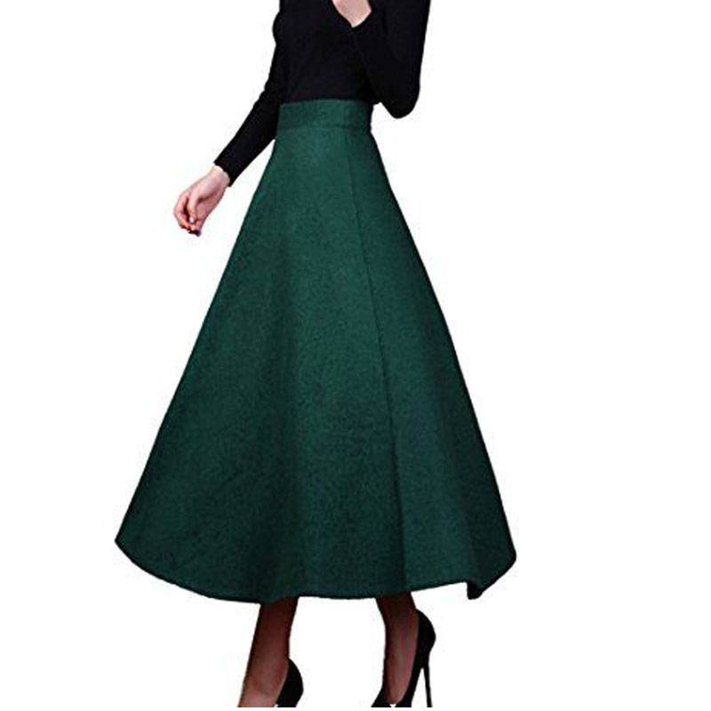 Popular Emerald Green Maxi Skirt-Buy Cheap Emerald Green Maxi ...