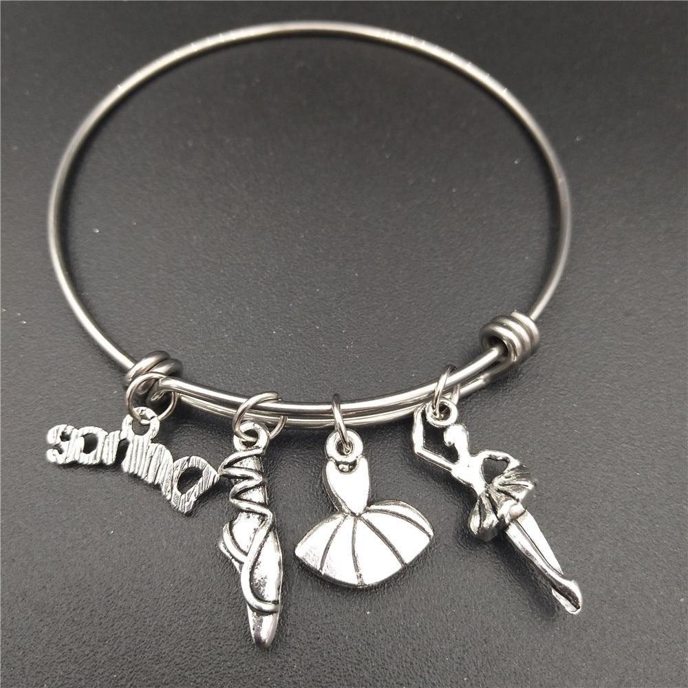 Աղջիկներ կանայք Պարող Ballerina նվերներ - Նորաձև զարդեր - Լուսանկար 4