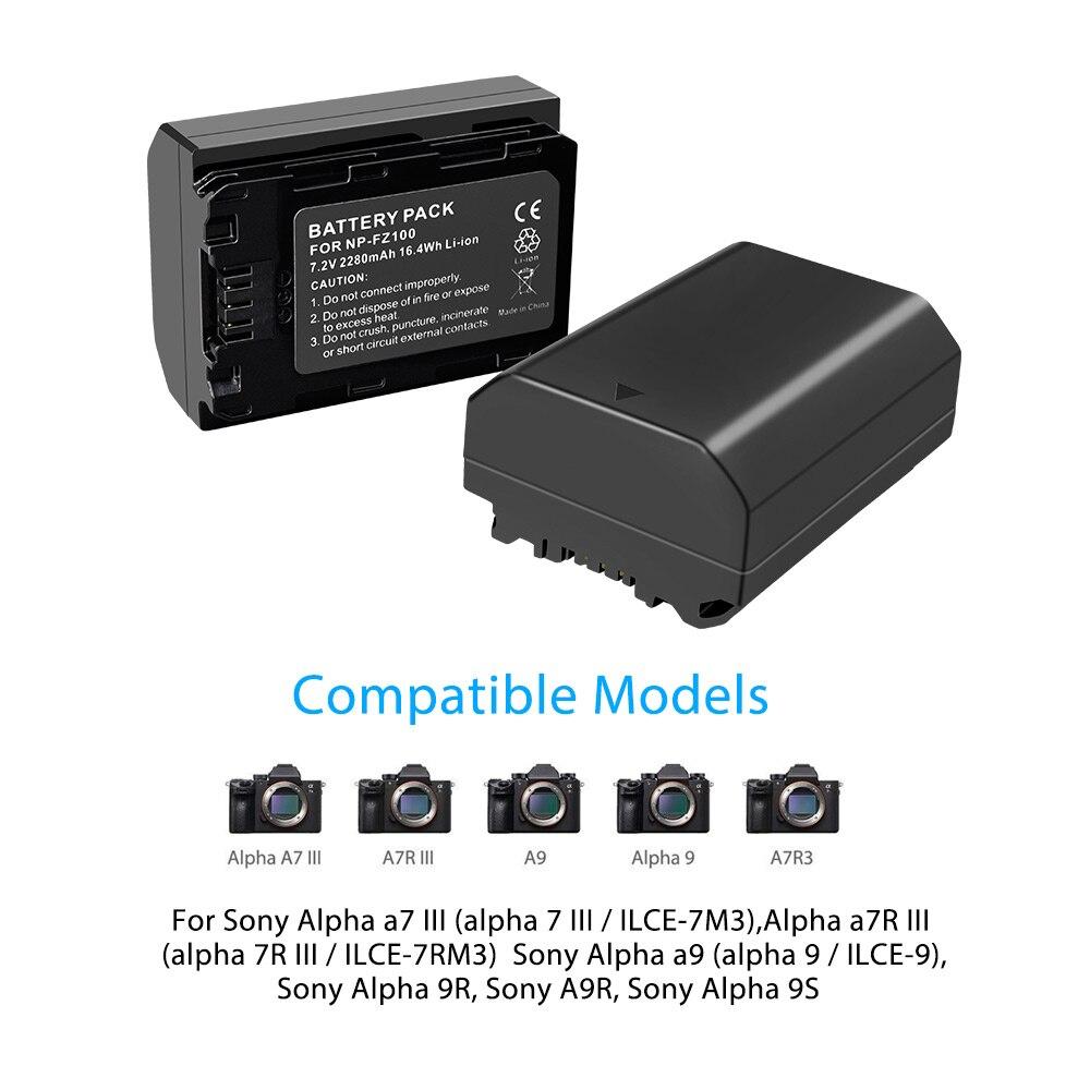 2Pc-2280mAh-NP-FZ100-NPFZ100-NP-FZ100-Battery-LCD-Dual-USB-Charger-for-Sony-NP-FZ100 (5)