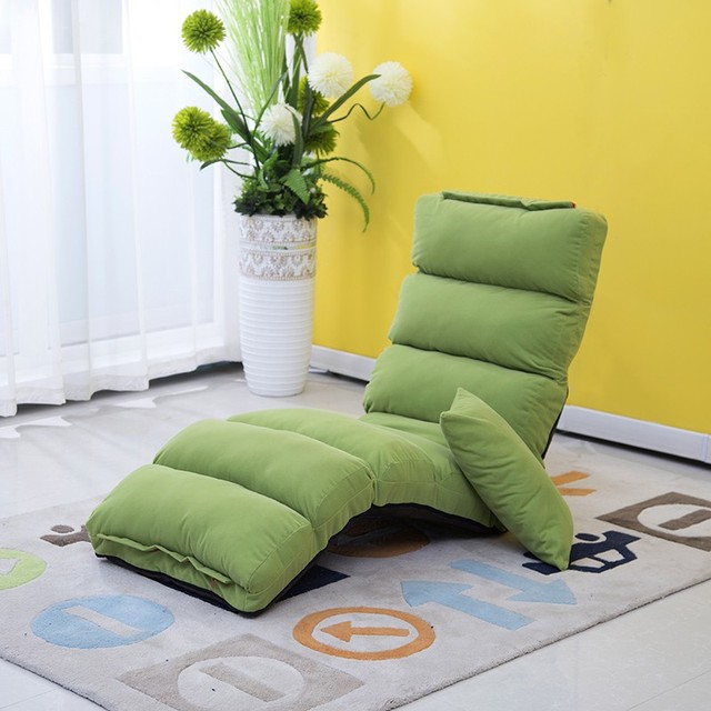 Japanese living room furniture 5 colors floor seating for Asian chaise lounge