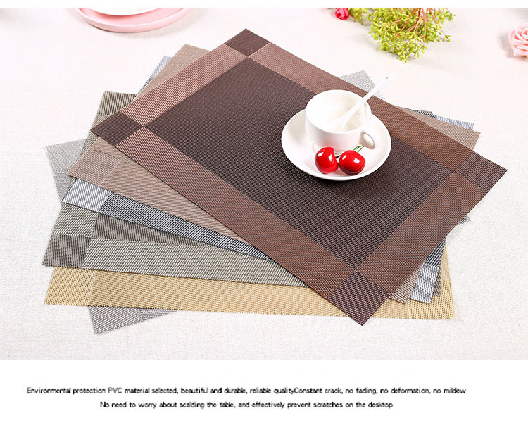 Awesome Placemats to Protect Wood Table