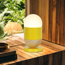 Colorfu Lovely Led Table Lamp Yellow/Pink/Blue Body Desk Children room Bedside Living Decoration Lighting