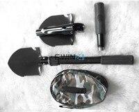 1 X Camping Spade Shovel Folding Military Tool Foldable Entrenching Survival Pick