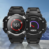 New Design Smart Watch Men LED Touch Fitness Sports GPS Watch Rubber Outdoors Male Call Climbing Smart Wristwatch Android IOS