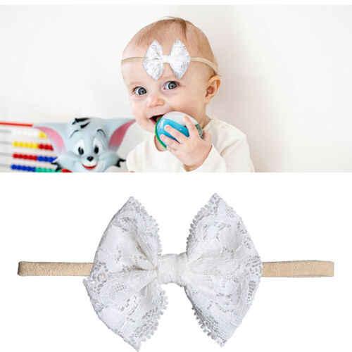 2019 niños niñas recién nacidas bebé 1/10 piezas bonito diadema de flores accesorios para el pelo cabeza envoltura caliente
