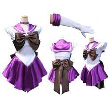 6 видов цветов Японии аниме Платье для косплея с бантом пикантные Сейлор Мун костюм воротник с лацканами горячая девушка Платье для косплея плиссированная юбка S-2XL