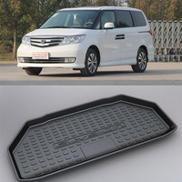 Non Slip Waterproof 3D TPO Trunk Boot Cargo Mat Recycled Durable For Honda ELYSION 2015