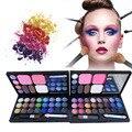 Maquiagem profissional Set Pro 28 Full Color sombra blush pó facial sobrancelha pó Palette Kit cosméticos Kit completo A2