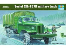 TRUMPETER 01003  1/35 Scale  Soviet ZIL-157K Military Truck