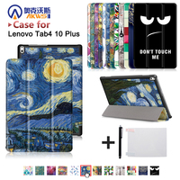 Slim Magnetic Cover Case For Lenovo TAB 4 10 Plus TB X704N TB X704F Tablet 2017