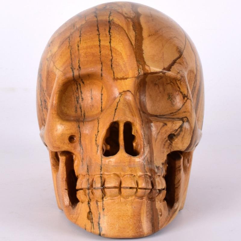 Statue crâne 5