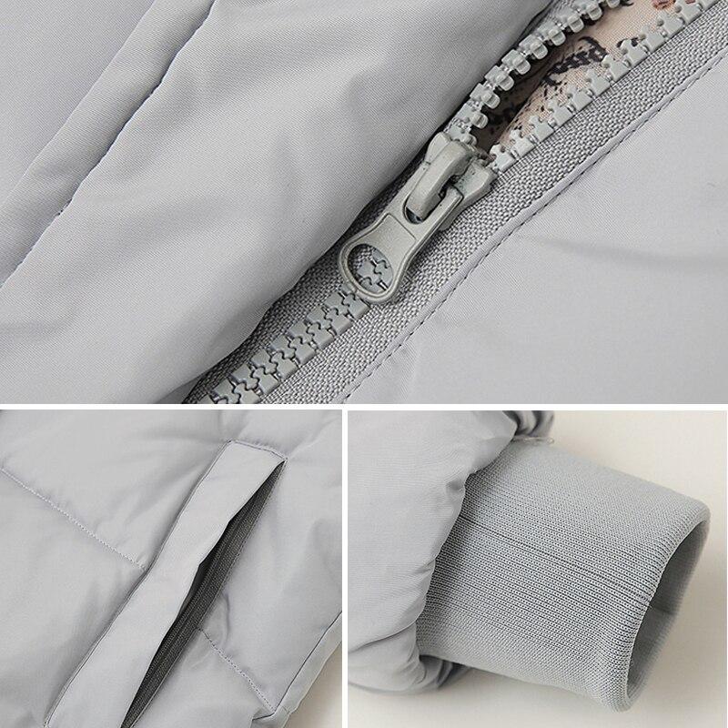2018 hot sale women winter hooded jacket female outwear cotton plus size 3XL warm coat thicken jaqueta feminina ladies camperas 5