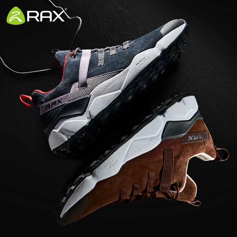 2019 Rax Breathable Running Shoes For Men Cushioning Sports Sneakers Mens Outdoor Jogging Shoes Walking Sneakers Man Trainers