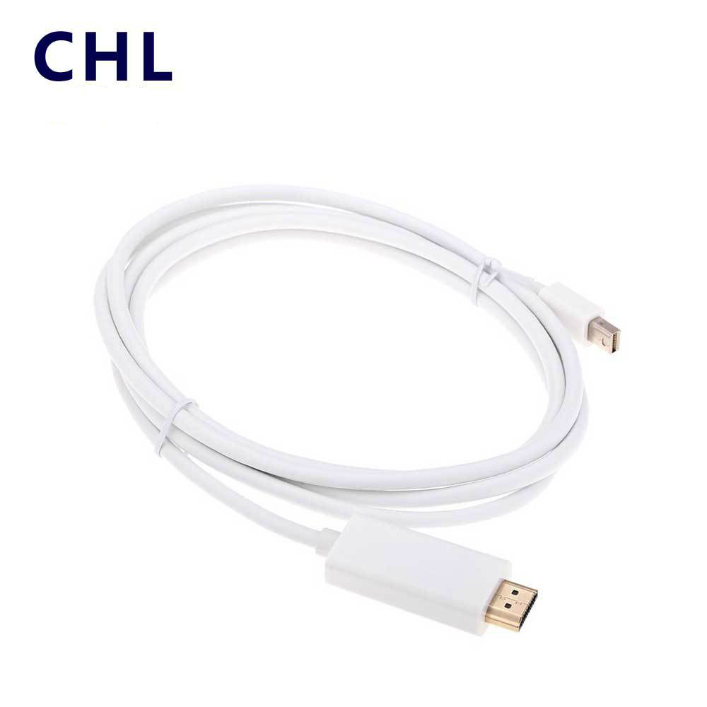 1.8m 1080P DisplayPort DP to HDMI Male Converter Adapter Cable PC MacBook
