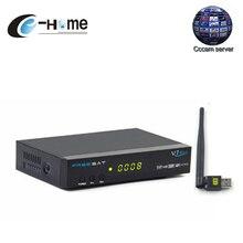 Europa CCCAM Receptor de Satélite FREESAT V7 Max con WIFI 1080 P FULL HD DVB-S2 Soporte Cccam Newcam YouTube Youporn