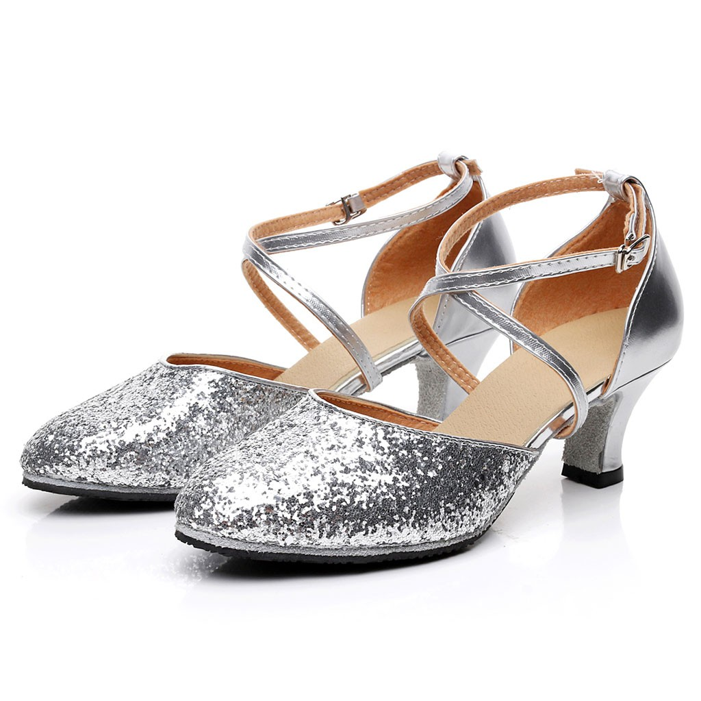 Dashing Womens Fashion Rumba Waltz Prom Ballroom Latin Salsa Dance Sexy High Heels Shoes Sandals Ladies Zapatos De Baile 15 Other