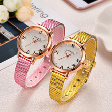Luxury Watch Woman Fashion Love heart Dial Lady Wristwatches Casual Leather Clock Birthday Gifts For Couple Watches