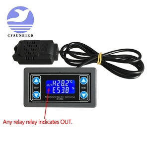 Image 4 - Thermostat Temperature Humidity Control Thermometer Hygrometer Controller Module Relay DC 12V LED Digital Display Dual Output