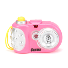 Cute Baby Study Toy Kids Projection Camera Educational Toys for Children Baby Gift Random Color