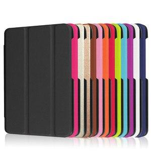 Ultra Slim Folio Leather Stand