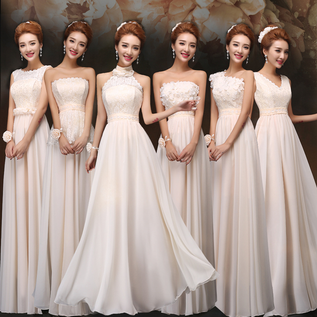 2015 brand new formal dress autumn spring long design bridesmaid ...