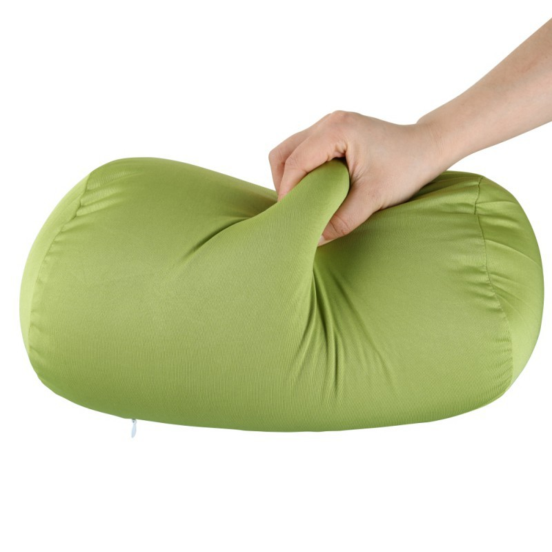 Children Women Solid Color Memory Foam Pillow Care Soft Neck Pillow Fiber Slow Cervical Health Care Granules