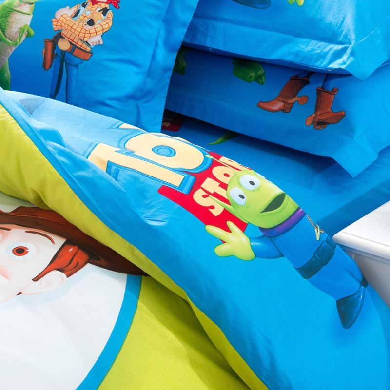 cotton Kids boys Toy Story Bedding sets Duvet quilt cover sets