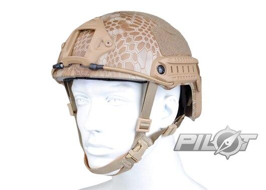 ФОТО 2015 NEW Kryptek Typhon Pilot FAST Helmet Airsoft MH adjustable ABS helmet (PH0601-Nomad)