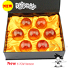 New 5 7cm Dragon Ball Z New In Box DragonBall 7 Stars Crystal Ball Set Of