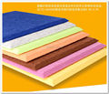 Nuevo 8 unids tamaño grande 120*60 cm Material de Poliéster de Paneles Acústicos/Material de Poliéster/Insonorizadas Paneles tableros inicio decorativos EMS