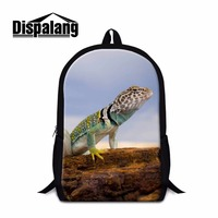 Dispalang Animal Backpacks For School Men Casual Mochilas Zoo Large Capacity Kids Schoolbag Women Travel Shoulder
