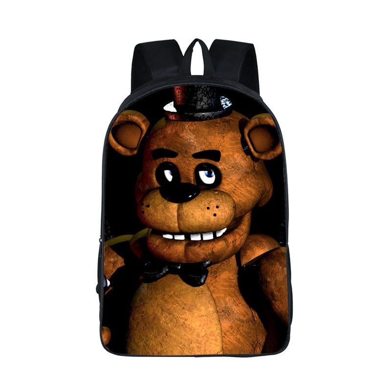 For Teen Backpacks Five Nights At Freddys Backpack Bonnie Fazbear Foxy Freddy Chica Backpack Kids Bags Boys Girls School Bags ножницы diy page 8